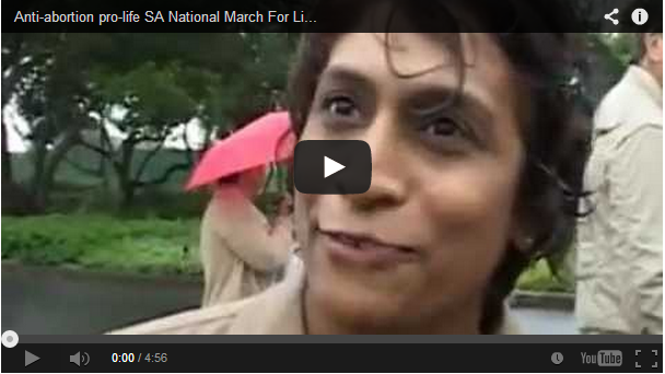 Video: March for life 2012