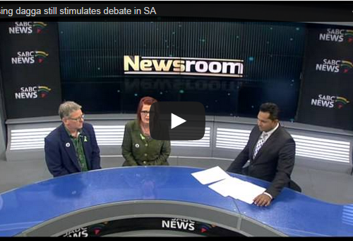 SABC Newsroom live debate with the Dagga Couple