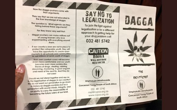 Dagga Courtcase postponed as DFL and the State oppose livestreaming by FOGFA