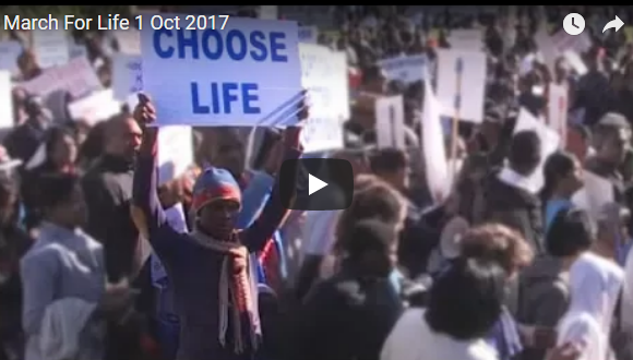 March for Life 1 October 2017