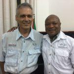 Mario Rocha with Dr Naftal