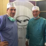 Dr Jonathan Pons (left) and Dr Johan Eloff (right)