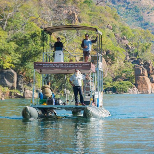 Kingsley Holgate heads to Zambezi Delta on 'Vision Mission'