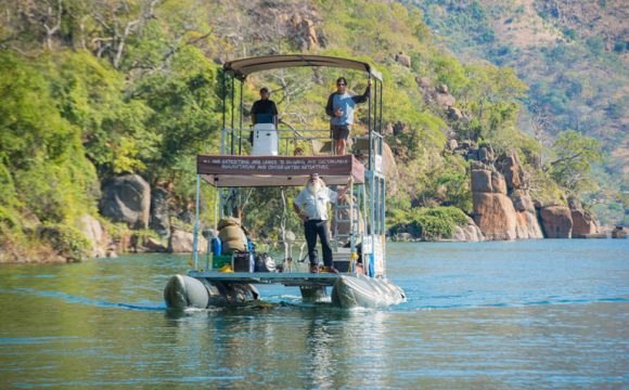 Kingsley Holgate heads to Zambezi Delta on 'Vision Mission'